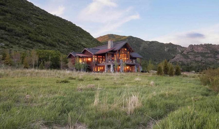 Потрясающий деревянный дом