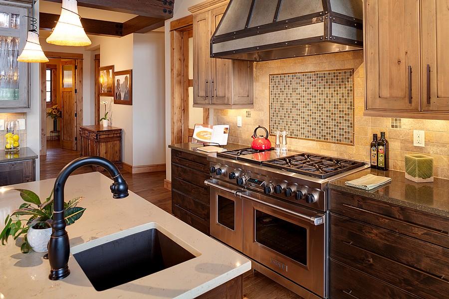 дизайн интерьера деревянных домов