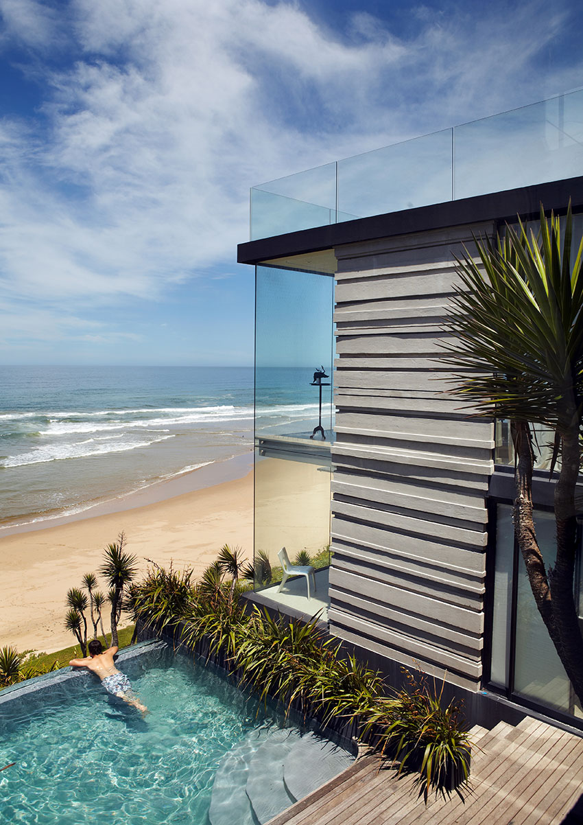 дом на побережье океана
