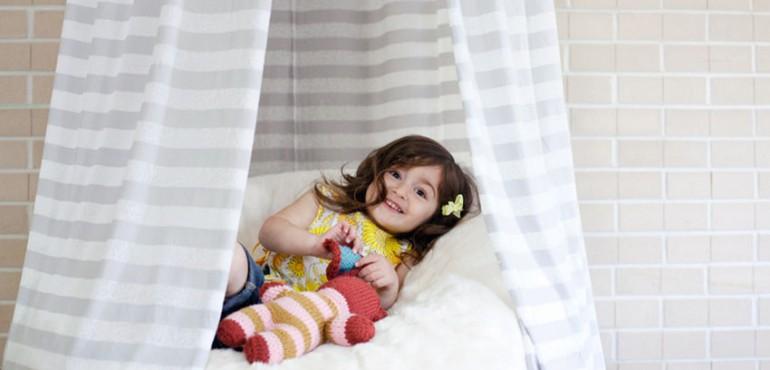 Шатер для ребенка своими руками