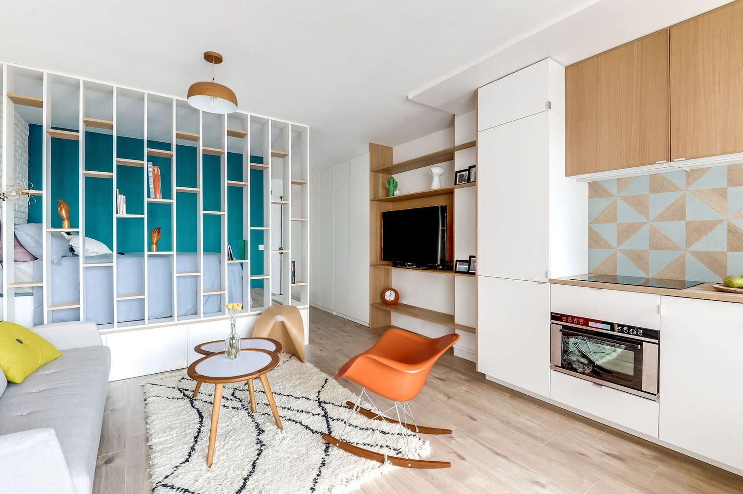 Дизайн-проект 1-комнатной квартиры: хитрости оформления