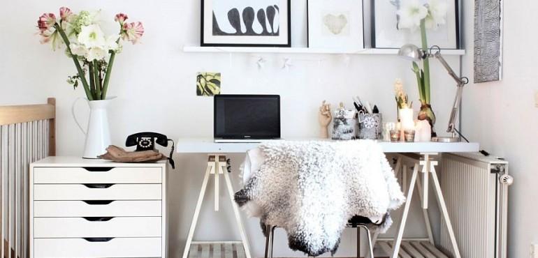 Дизайн рабочего кабинета в скандинавском стиле