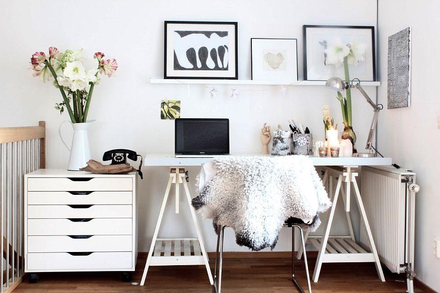 Дизайн робочого кабінету в скандинавському стилі