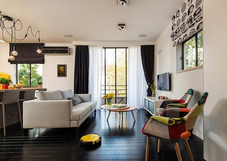 Интерьер однокомнатной квартиры (46 кв. м)