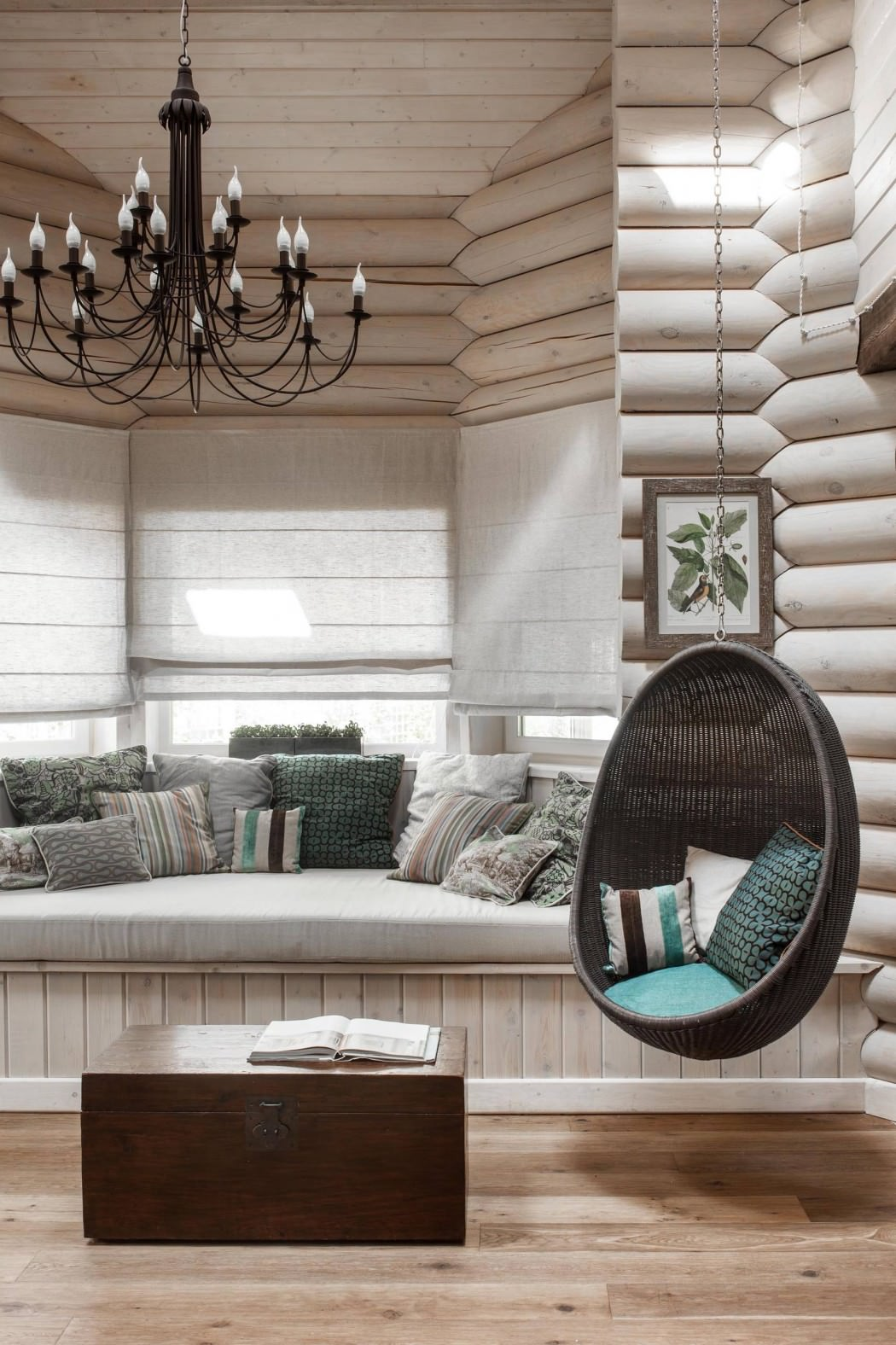дизайн деревянных домов фото