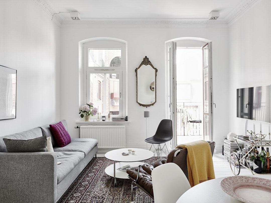 Красивый интерьер квартиры от Entrance