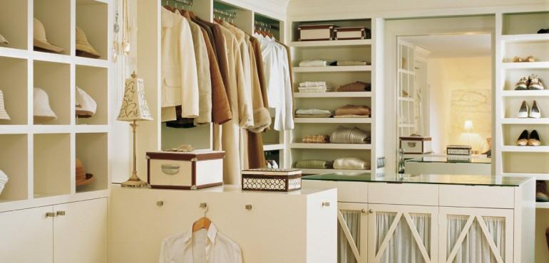 Оформление гардеробной комнаты: 18 идей