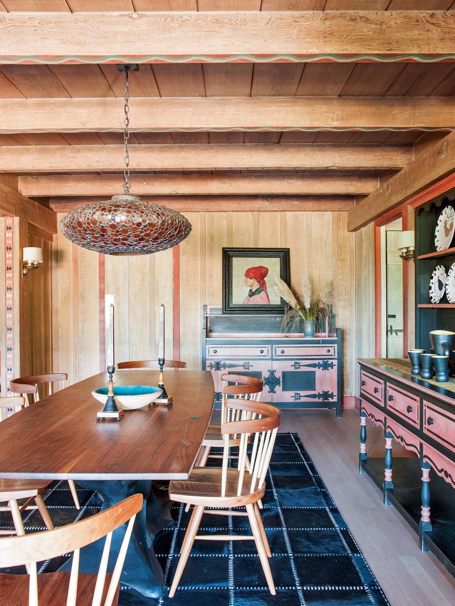 дизайн деревянного коттеджа фото