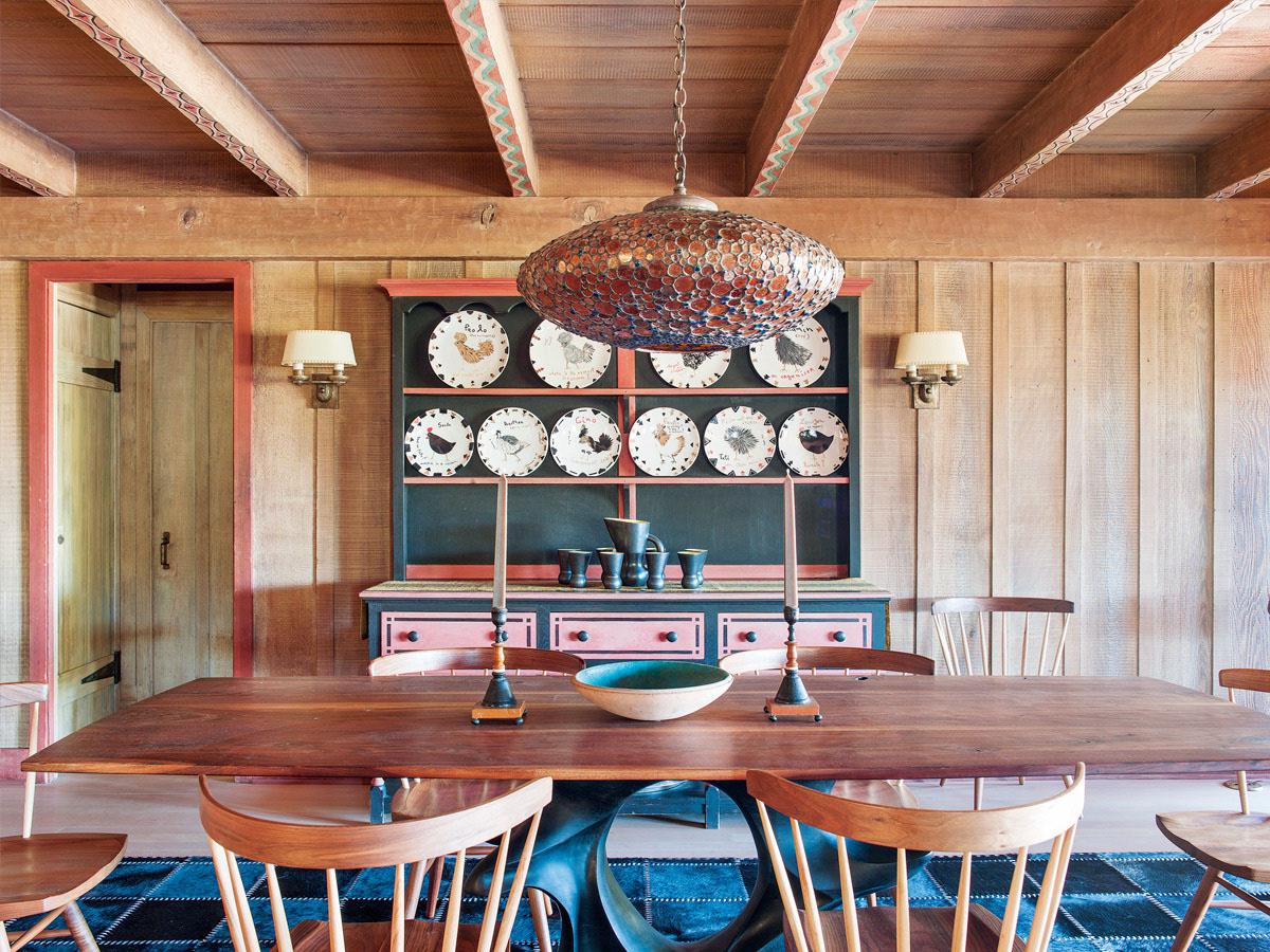 дизайн деревянного коттеджа