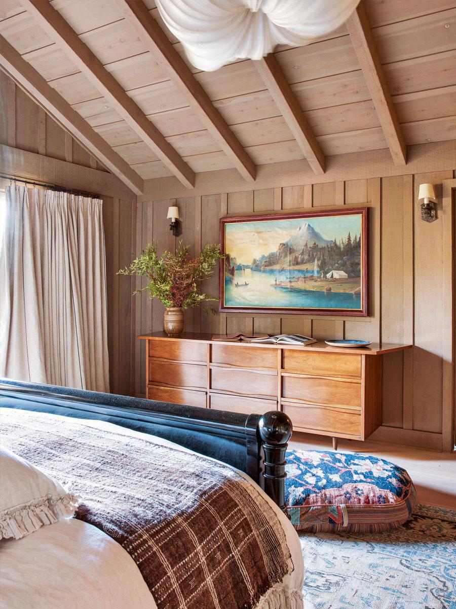 дизайн в деревянном доме