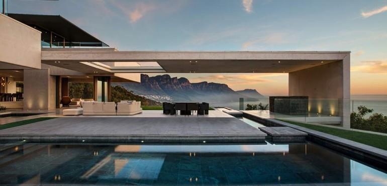 Роскошный дом с видом на океан