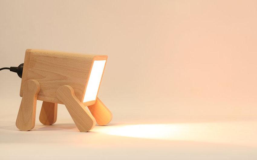 Лампа по кличке Фрэнк