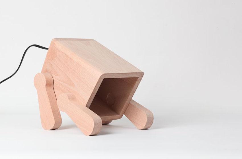 Лампа щенок