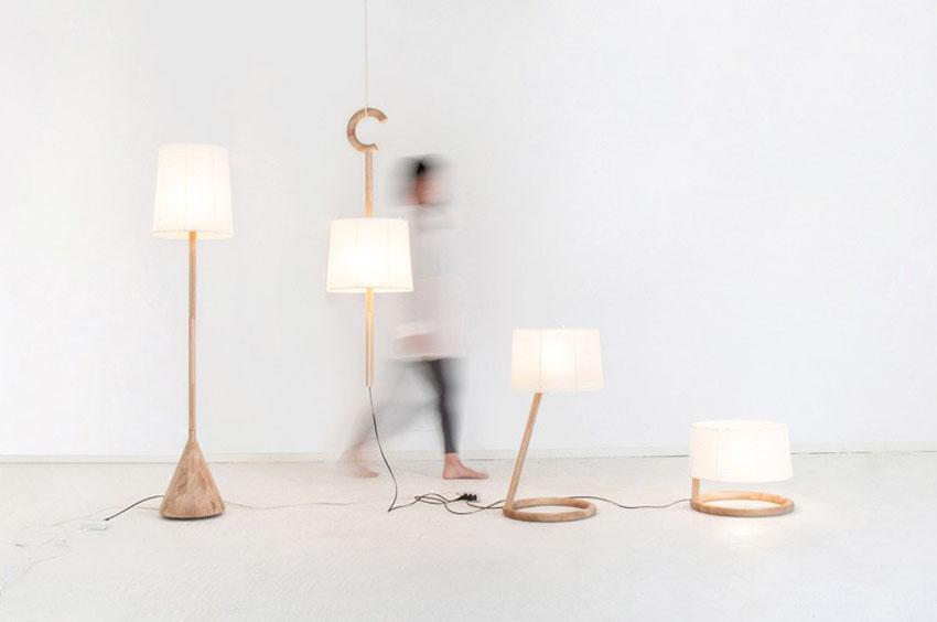 Нежные светильники от Kairi Eguchi Design