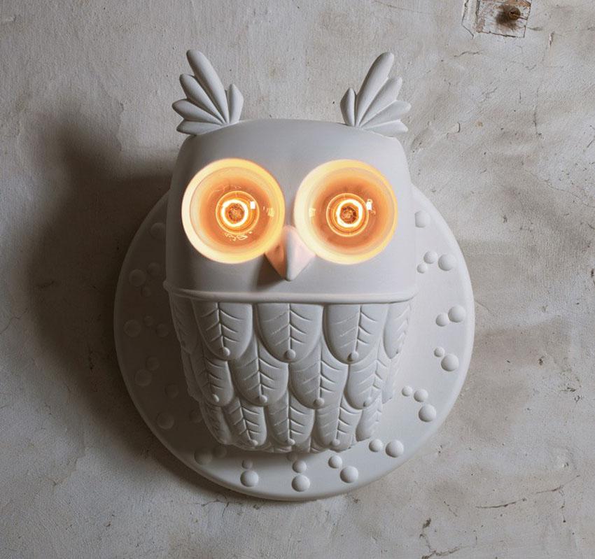 светильник сова фото