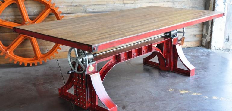 Винтажные столы от Vintage Industrial