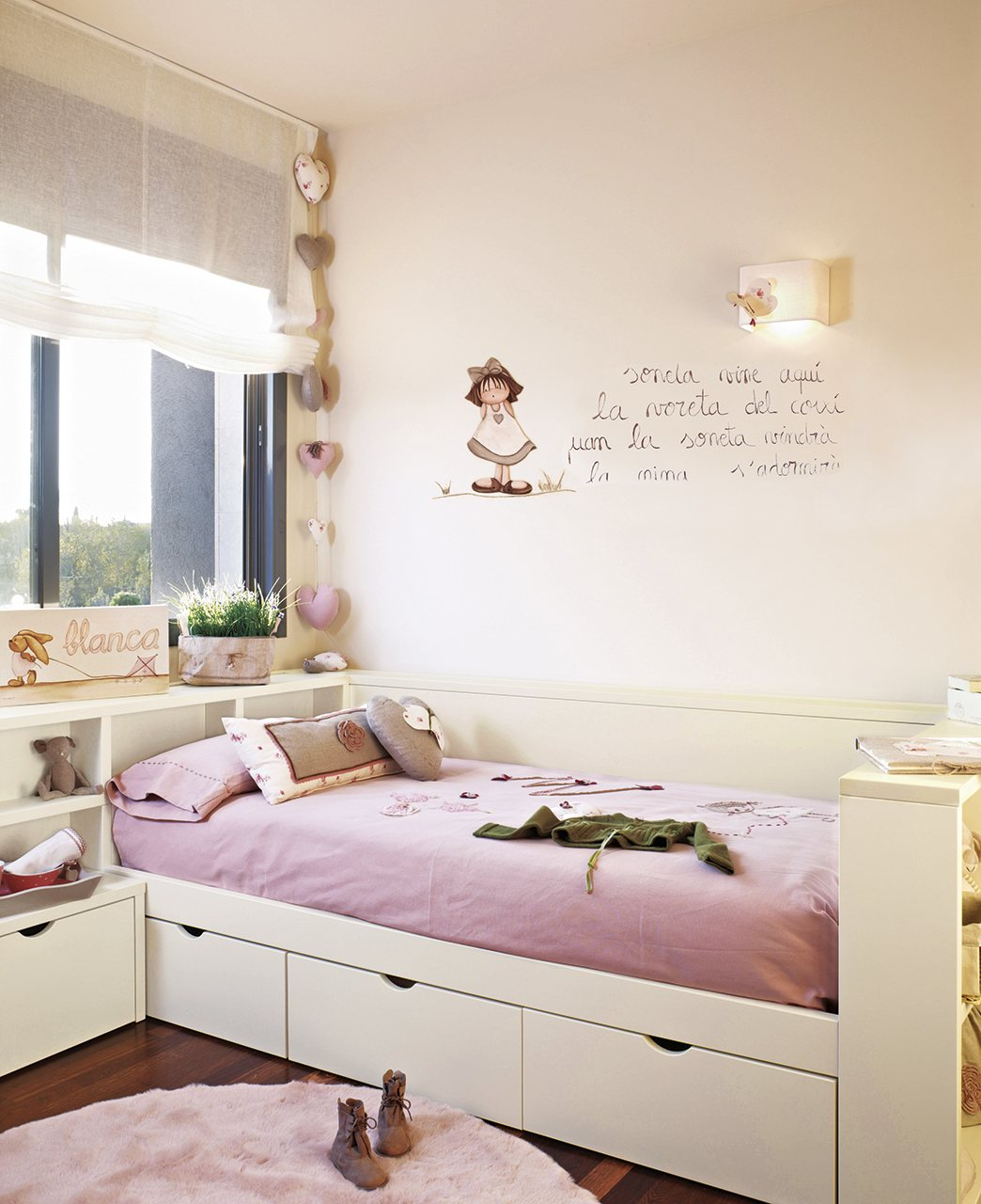 детские комнаты для девочки