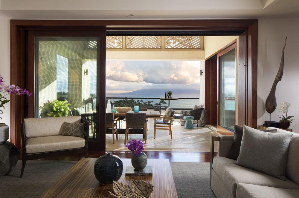 Красивый интерьер на Гавайях