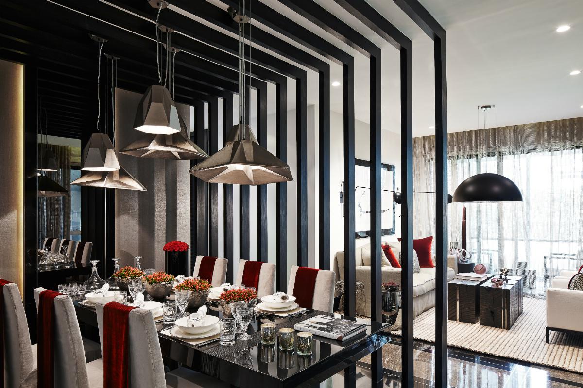Квартира с роскошным дизайном
