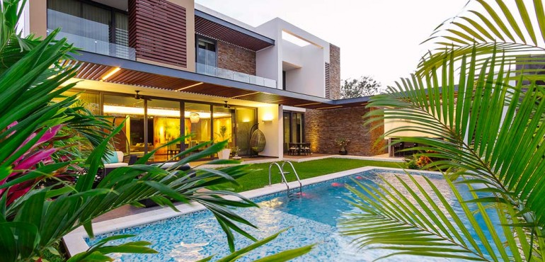 Роскошный дом из Мексики