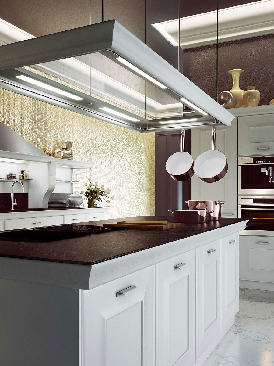 современный дизайн кухни 2014