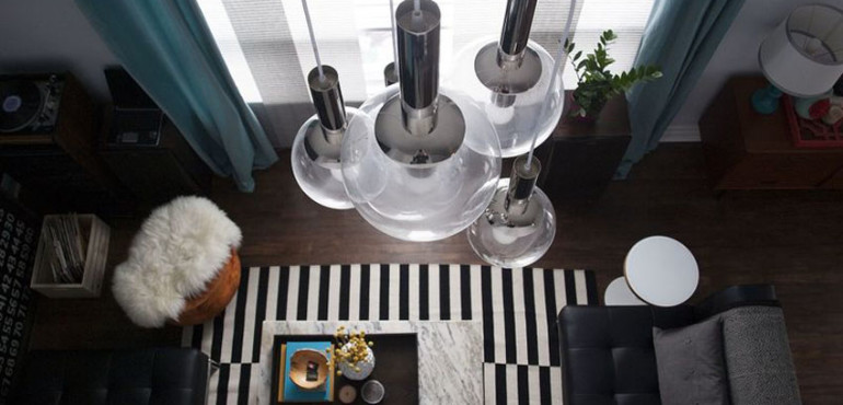 15 красивых подвесных ламп