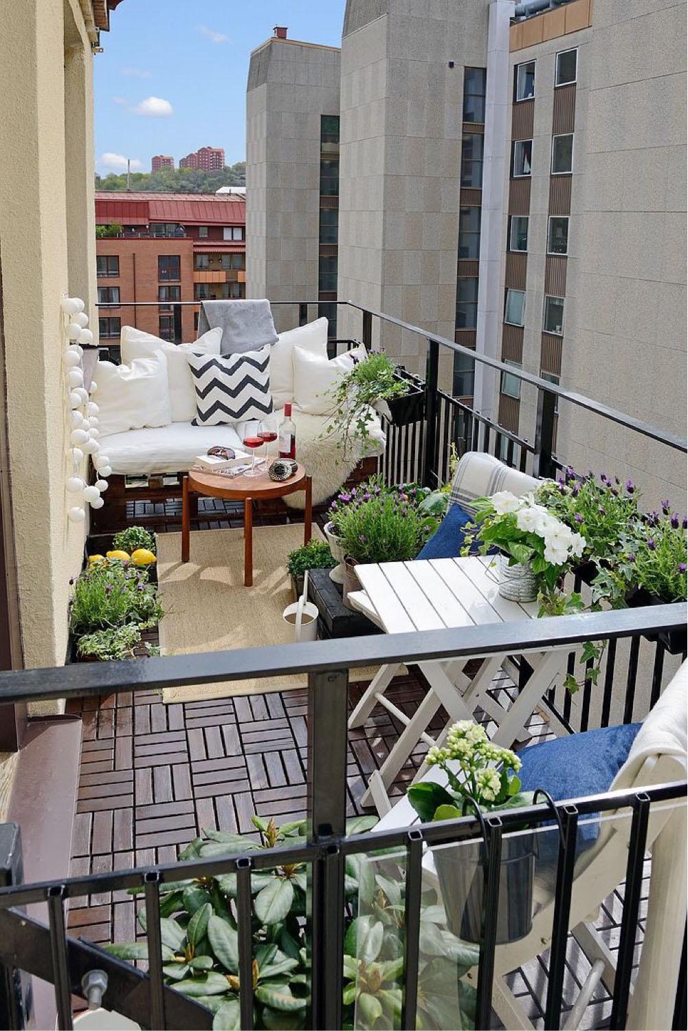 оформление балконов