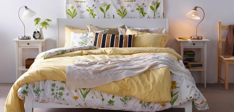 27 прекрасных спальни от IKEA