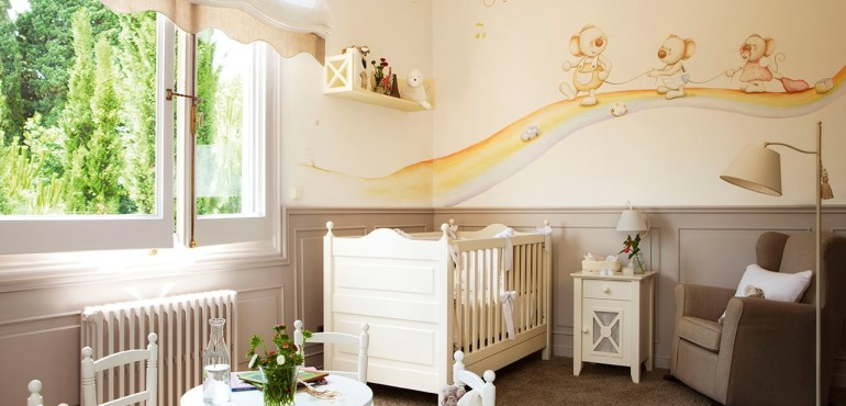 Дизайн детской комнаты для новорожденного
