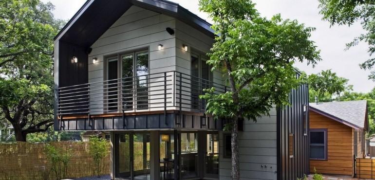Дом в двух стилях