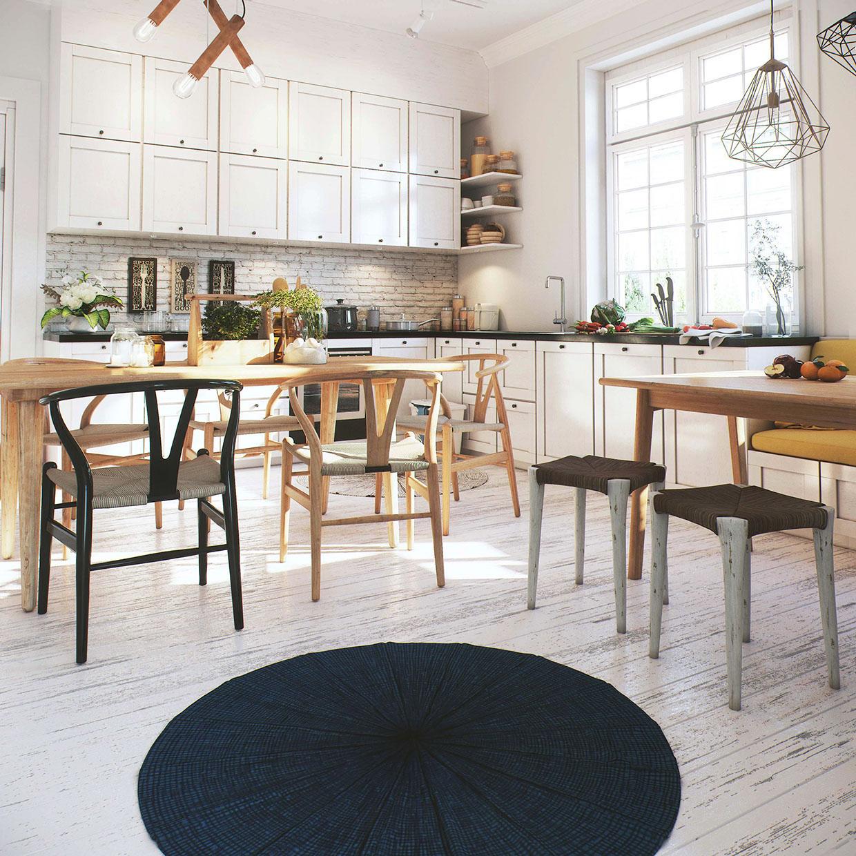 интерьер кухни столовой фото