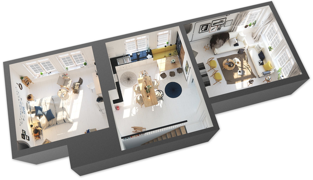 интерьер двухкомнатной квартиры фото