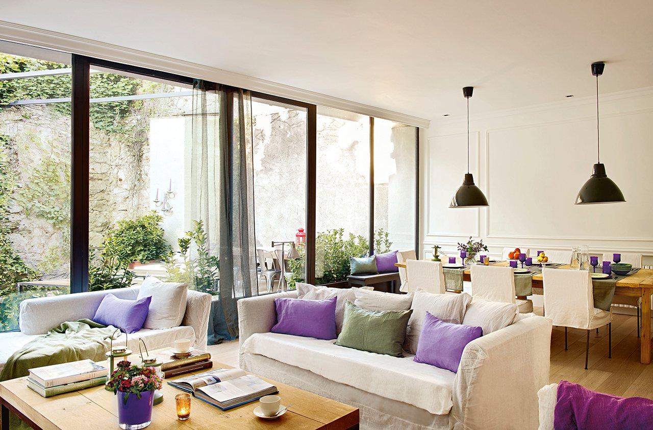 Испанский дом с оливковым оттенком