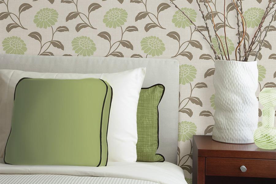 дизайн обои для спальни