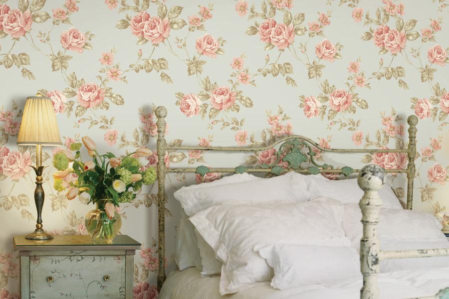 обои дизайн спальни