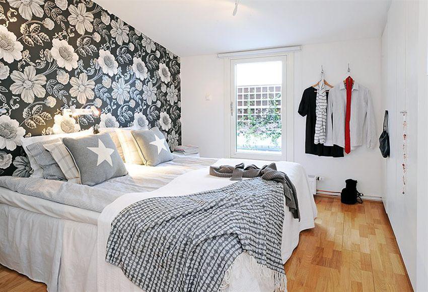 спальни дизайн обои