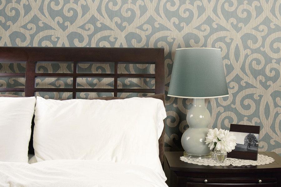 обои для спальни дизайн фото