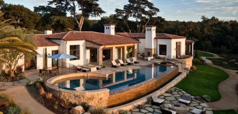 Роскошный дом Hope Ranch Estate