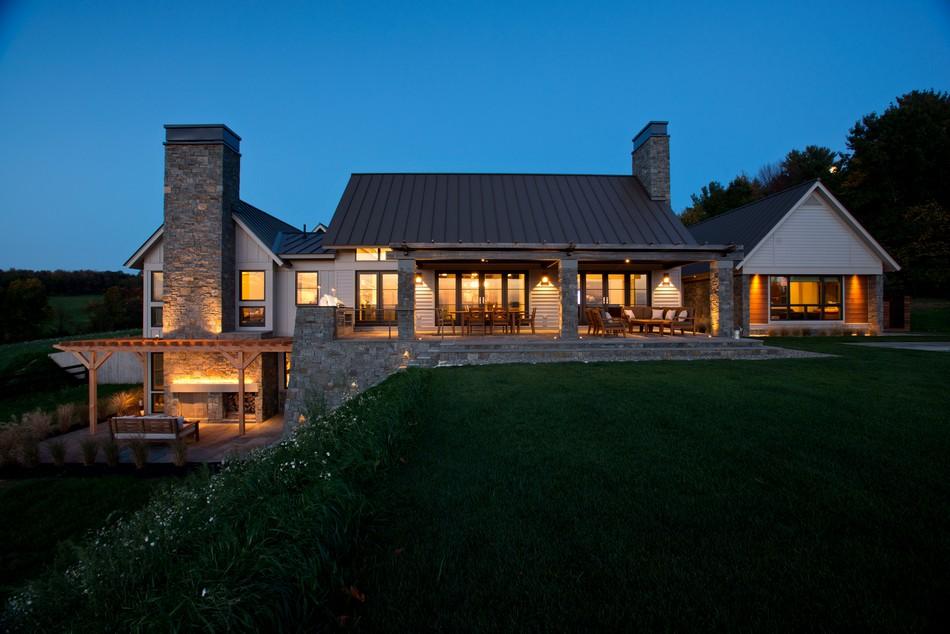 дизайн фасадов домов