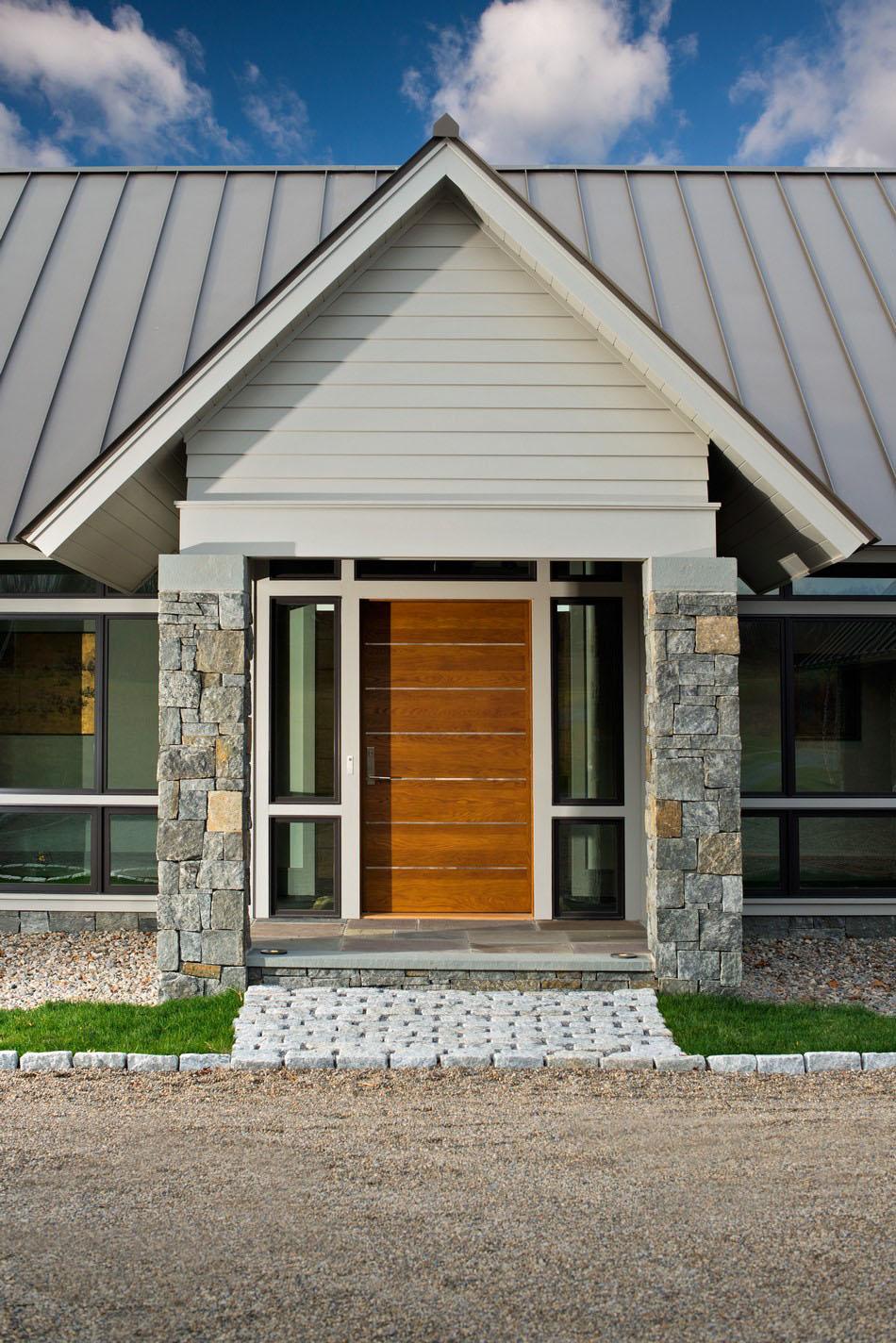 вход в дом дизайн