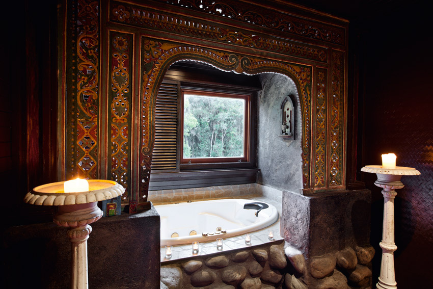 ванная комната в восточном стиле