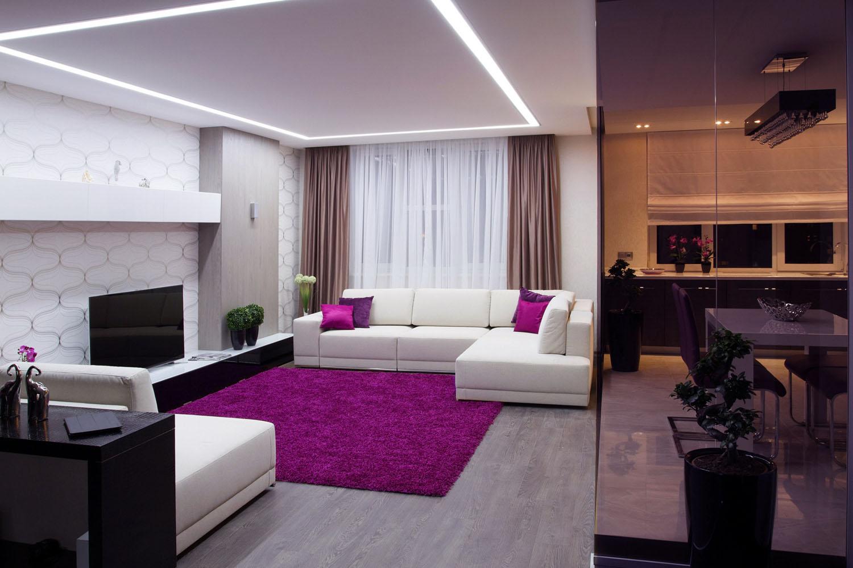 Стильная двухкомнатная квартира интерьер