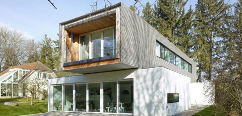 Ультрасовременный дом из Швейцарии