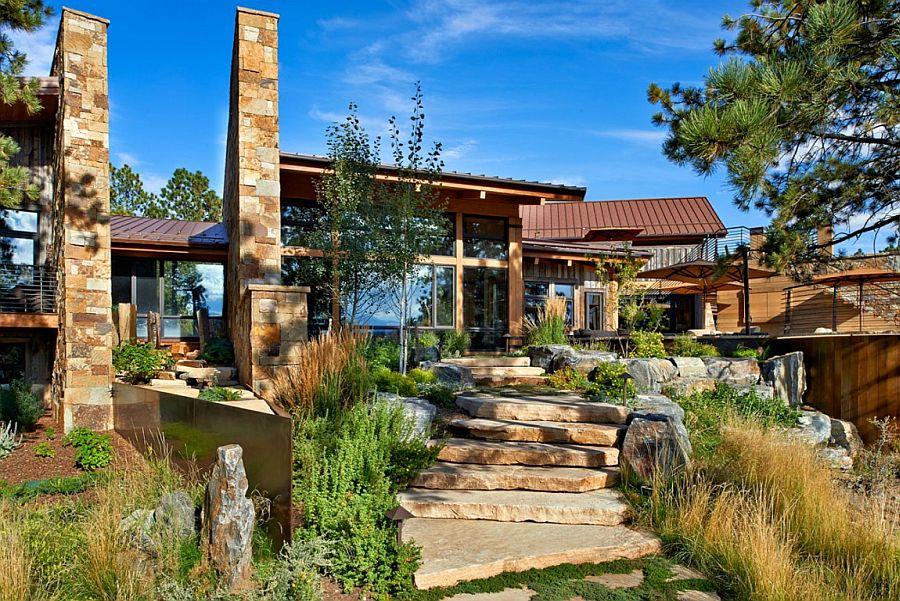 Загородный дом с потрясающими видами