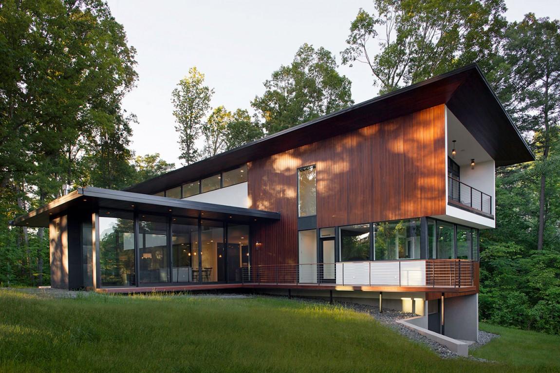 Современный дом от In Situ Studio