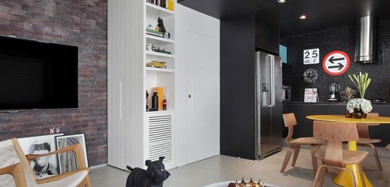 Стильная однокомнатная квартира