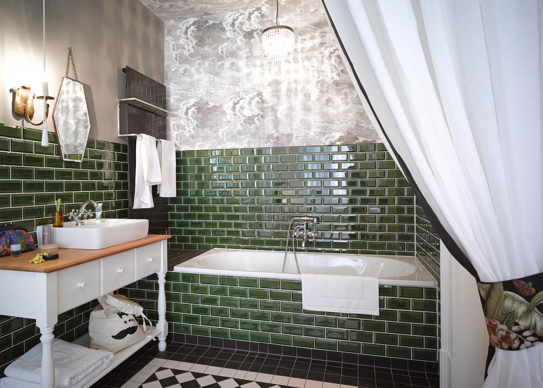 12 идей занавесок для ванной
