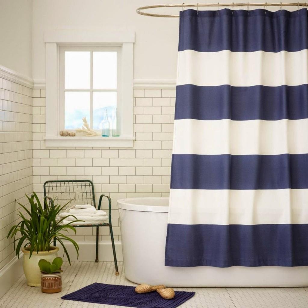 занавеска в ванную
