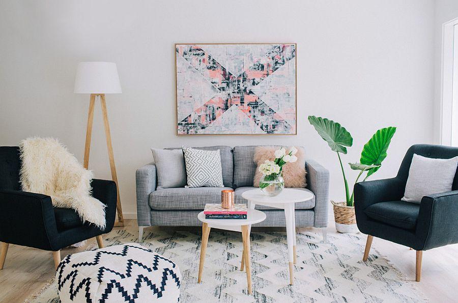 дизайн гостинной комнаты