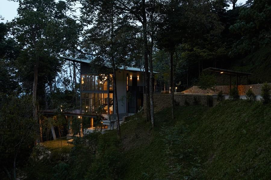 дома в лесу фото